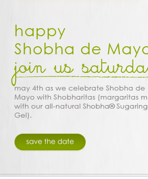 happy Shobha de Mayo