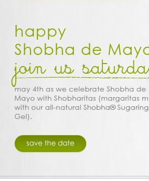 happy Shobha de Mayo